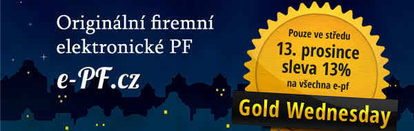 e-pf.cz - výhodná novoroční přání
