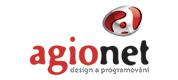 Agionet logo design a programovni