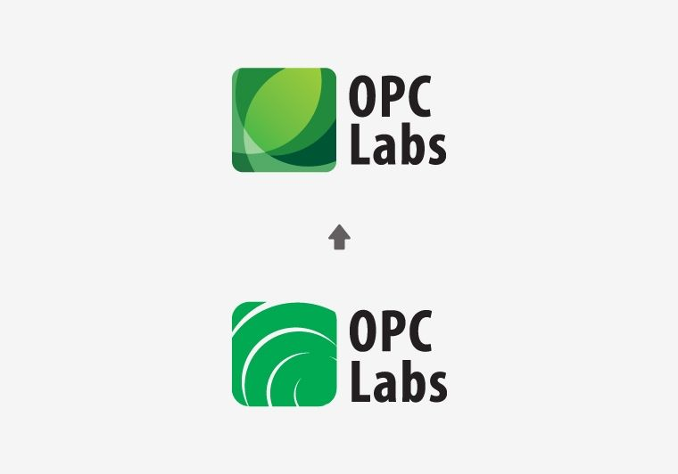 OPC Labs - redesign loga