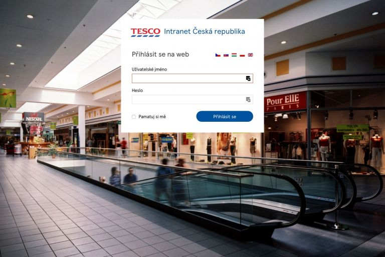 TESCO – intranet – document management & sharing