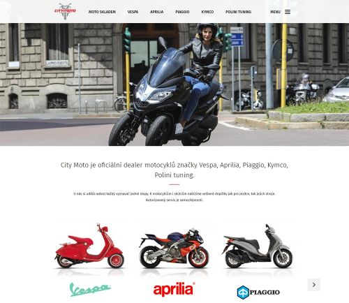 CITY MOTO – web a e-shop