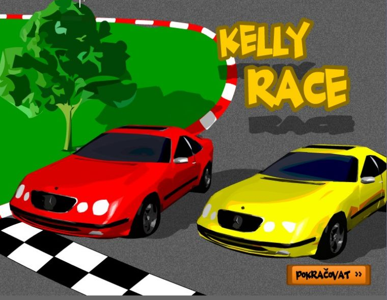 Kellyrace – flash hra
